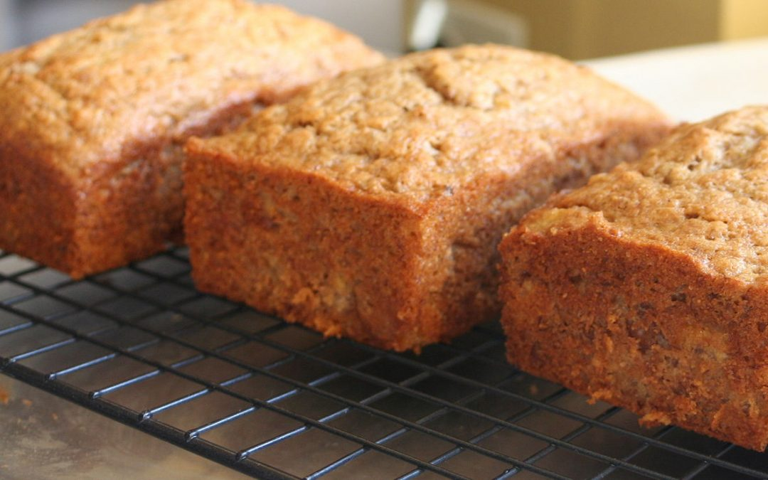 Banana and Spelt Quick-Mix Loaf Cake